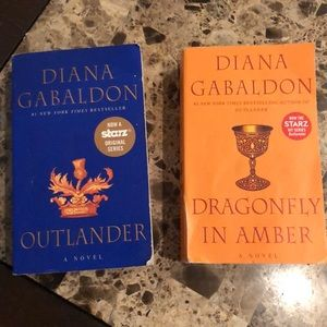 Outlander book 1 and 2